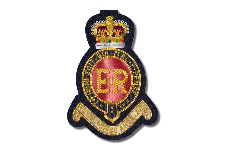 Royal Horse Artillery Regiment Wire Badge Edgar Jerome